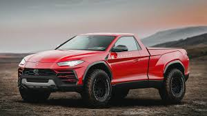 Would a Lamborghini Urus pickup truck make sense?