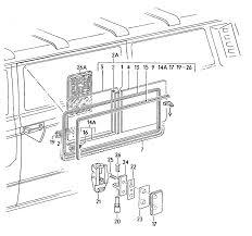 Images of vw sliding door parts