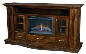 best electric fireplace with solid wood rustic stand cabinet furniture white tv glass doors
