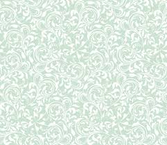 fl seamless pattern wallpaper baroque damask vector green and white background ornament stock vector