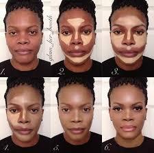 contouring for dark skin