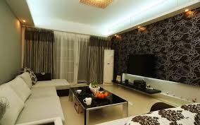 Wallpaper In Living Room Design Wallpaper Designs For Living Room India House Decor