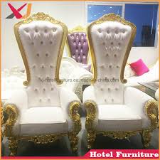 china best high back wedding king and queen throne chair for hotel restaurant china king chair queen chair