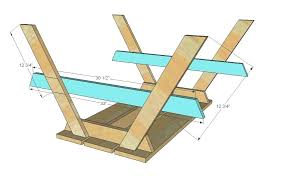 how to build a wooden picnic table how to build a round wood picnic table build