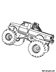 Small Picture Truck Coloring Page For Boy Printable Coloring Pages For Kids Free