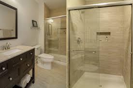 Steve  Emilys Hall Bathroom Remodel Pictures Home Remodeling - Bathroom contractors