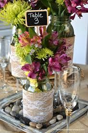 Wedding Decor With Mason Jars Luxury Ideas Mason Jar Centerpieces Wedding DIY A Little 84