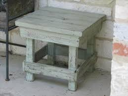 how to build rustic furniture. How To Painted Furniture Rustic Diy And Pallet End Table With Build