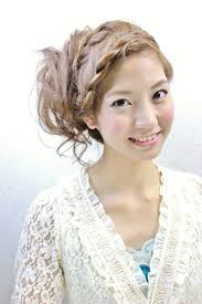 前髪編み込みの人気ヘアスタイルおしゃれな髪型画像 Stylistd