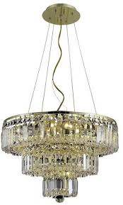 elegant lighting 2036d20g rc maxime 9 light crystal chandelier in gold with royal cut clear crystal