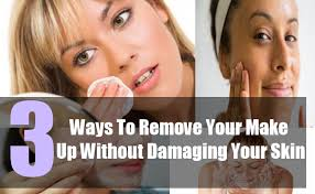 3 ways to remove make up properly natural makeup removers prevent skin damage from makeup natural home remes