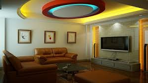 colourful pop false ceiling design