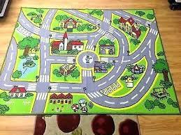 kids car road rug from ikea lekplats play playroom rugs mat