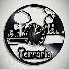 Record Gifts Olha Art Design Terraria Handmade Vinyl Record Wall Clock Perfect