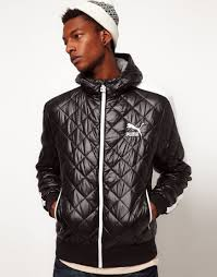 Lyst - Puma Quilted Jacket with Hood in Black for Men & Gallery Adamdwight.com