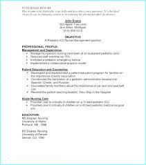 Nursing Cv Template Free Download Resume Resume Examples