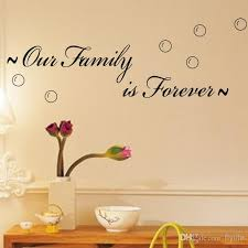 our family is forever spiritual quotes on home family wall decals vinyl wall stickers for living room and bedroom decor room decor sticker room decor  on spiritual vinyl wall art with our family is forever spiritual quotes on home family wall decals