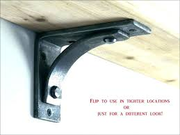 metal bar support brackets trend top wood breakfast for countertops wall mounte metal support brackets beam