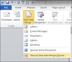 Word Mail Merge Word Mail Merge Tutorial Using Excel Data Productivity