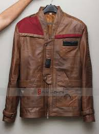 finn star wars episode 7 distressed leather jacket