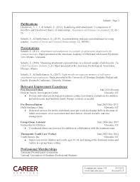 writing a curriculum vitae handout career services university sample entry level curriculum vitae page 2 click for accessible pdf