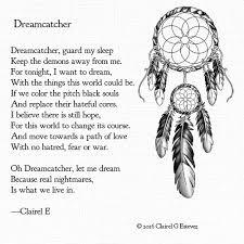 Dream Catcher Poem Amazing Dreamcatcher Discovered By Clairel Estevez On We Heart It