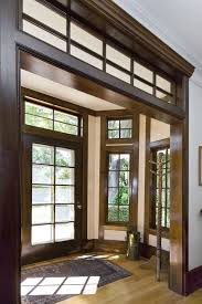Crown Molding Coat Rack Wood trim ideas entry traditional with crown molding transom window 89