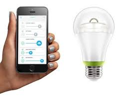 control lighting with iphone.  Lighting Link Is A Smart LED Light Bulb You Control With Your IPhone On Control Lighting With Iphone O
