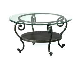 round wrought iron table glass iron coffee table coffee tables round wrought iron table elegant legs