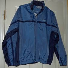 Womens Reebok Running Jacket Lined Weather Proof Nwt