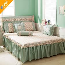 bed skirts king. Plain King 100 Cotton Bed Skirt Floral Print Beautiful Skirts With Lace Edge  Cheap High Quality Bedspread Bedskirt KingQueen Size Linen Crib Dust Ruffle  To King E