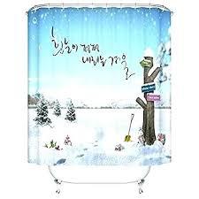 custom fabric shower curtains shower curtains creative case shower polyester fabric shower curtain standard size