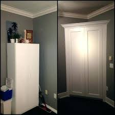building a corner closet on how to build a corner closet pantry and