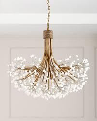 john richard collection quartz 9 light chandelier