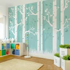 Cool Kinderzimmer Tapete Innenarchitektur Outside To Accent Wall ...