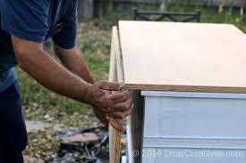 diy kitchen island from dresser. Dresser To Kitchen Island Folding Top Being Added_ Diy From