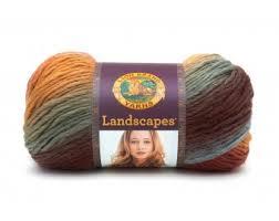 Lion Brand Homespun Yarn Color Chart Landscapes At Lion Brand Yarn Lion Brand Yarn
