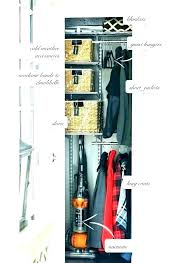 coat closet organization ideas hall closet organizer hallway
