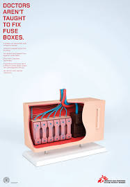 medecins sans frontieres print advert by m&c saatchi fuse box