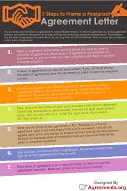 steps to frame a foolproof agreement letter infographic only 7 steps to frame a foolproof agreement letter infographic