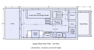 7 1000 Images About Tiny House Floorplans On Pinterest Tiny House Wheels  Plans Projects Ideas