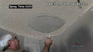 Knock Down Ceiling Texture How To Texture Drywall Popcorn Ceiling Drywall Repair Youtube