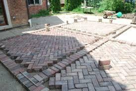 brick paver patio herringbone. Fine Patio These Old Street Paver Bricks  Throughout Brick Paver Patio Herringbone R