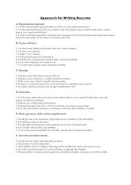 Chronological Words Human Resources Words To Use When Writing A Resume Used In