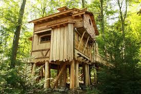 33 Simple And Modern Kids Tree House Designs  Garden  Pinterest Kids Treehouse Design