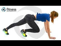 hiit cardio and and thigh workout hiit and strength workout