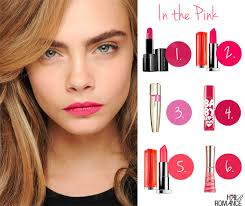 hair romance in the pink and my fave pink lipsticks
