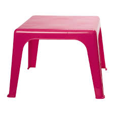 childrens plastic table assorted