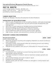 Project Consultant Sample Resume Ha