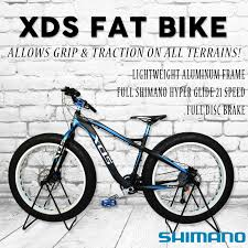 Qoo10 Cycle Bicycle Xds Fat Bike Full Lightweight Aluminium